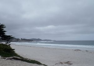 Carmel Beach by Chris Parsons
