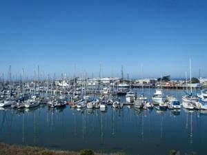 Moss Landing Harbor by CM Parsons