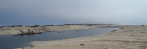 Sand Mining Monterey Bay by CM Parsons