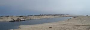 Sand Mining Monterey Bay by CM Parsons